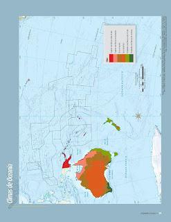 Apoyo Primaria Atlas de Geografía del Mundo 5to. Grado Capítulo 2 Lección 3 Climas de Oceanía