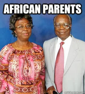 Les parents Africains