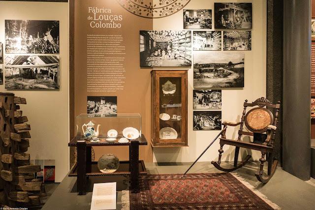 Fábrica de Louças Colombo no Museu Paranaense