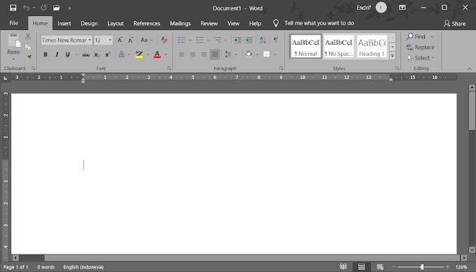 Bagaimana Menjalankan Microsoft Word