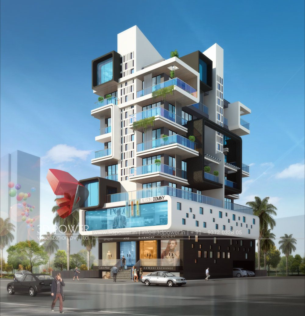 Build Apartments: RESIDENTIAL TOWERS