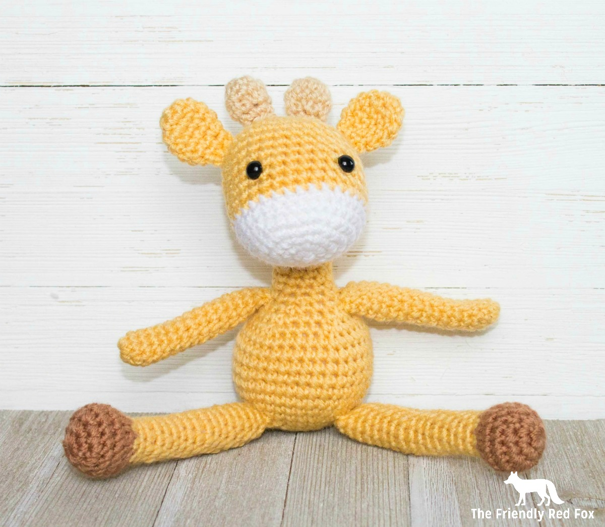 Free Crochet Pattern for The Friendly Mini Giraffe ...