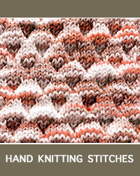 HandKnitting - Dimple Textured Stitch. Fun pattern!