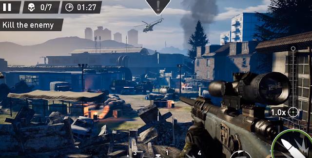 Ya disponible versión móvil de Sniper: Ghost Warrior con horas de juego por delante