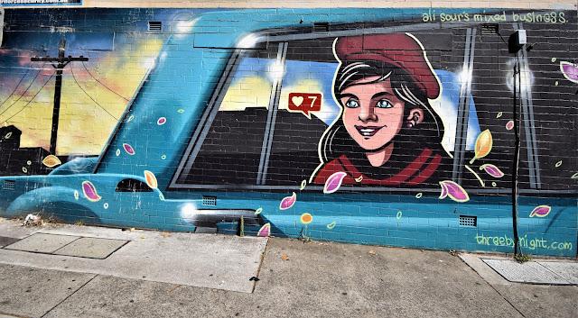 Street Art in Kogarah Sydney by ThreebyNight