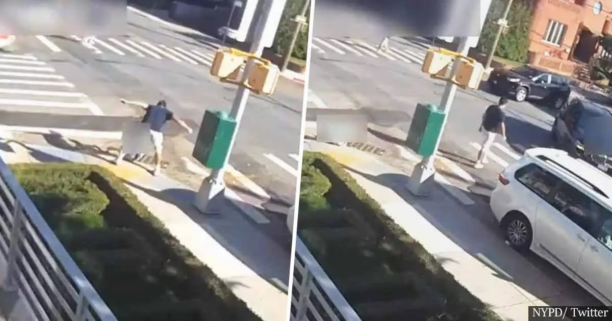 Man Caught On Camera Punching 12-Year-Old Boy Unconscious In Coney Island, The Police Are Appealing For Witnesses