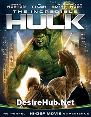 The Incredible Hulk (2008) Dual Audio [Hindi – English] 480p BluRay – 350MB