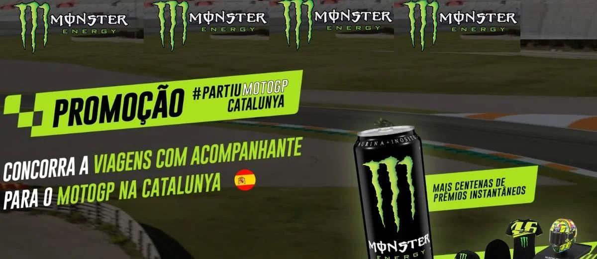 Promoção Monster Energy 2020 Moto GP Viagens Catalunya Barcelona e Prêmios Na Hora
