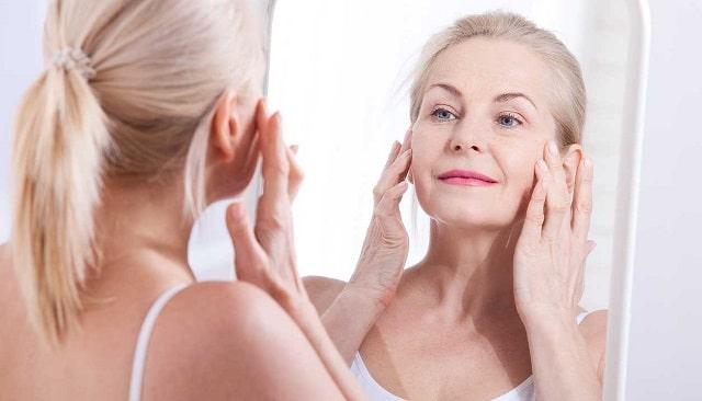 causes skin sagging tighten skincare treatment