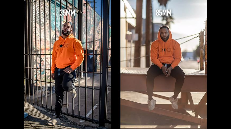 The Use of 35mm, 50mm and 85mm in Portraits