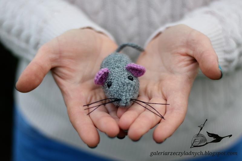 Jak wyszydełkować myszkę – prosty i szybki kurs