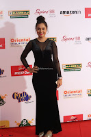 Vennela in Transparent Black Skin Tight Backless Stunning Dress at Mirchi Music Awards South 2017 ~  Exclusive Celebrities Galleries 029.JPG
