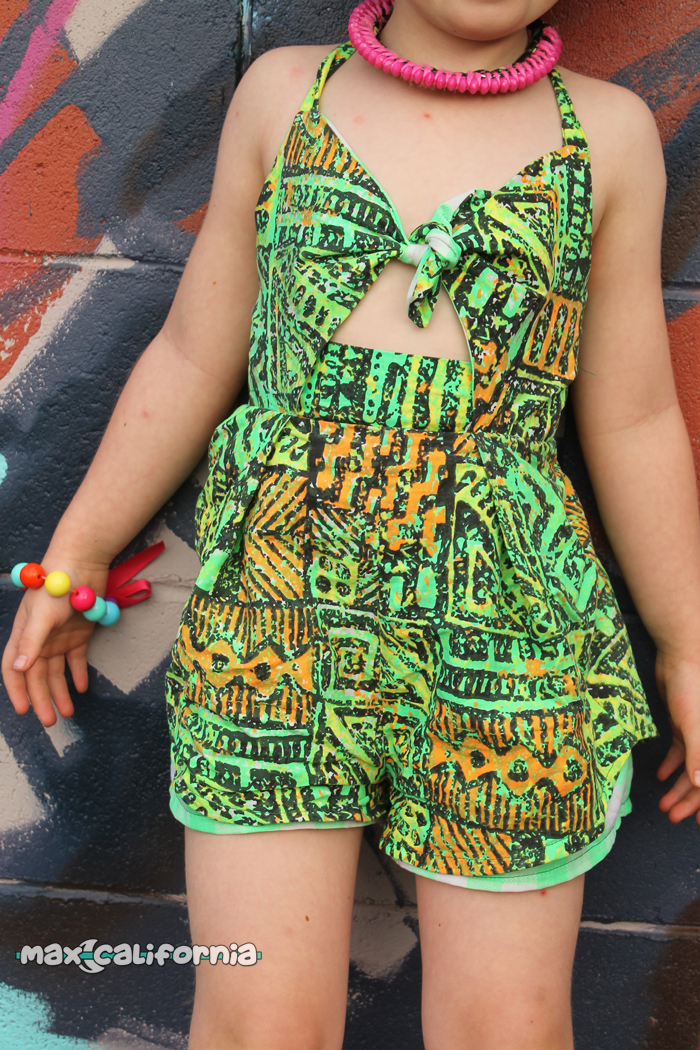 Santorini Sunsuit (pdf pattern) sewn by ☾ max-california.com