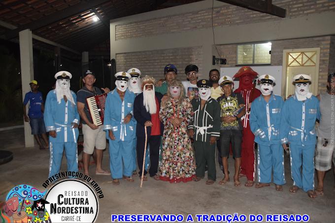 Grupo Cultura Nordestina do Muquém de Santo Antônio,  município de Cariré, continua preservando tradição do Reisado