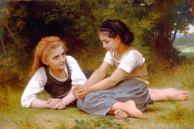 Адольф Вильям Бугро - Сборщицы орехов (1882)