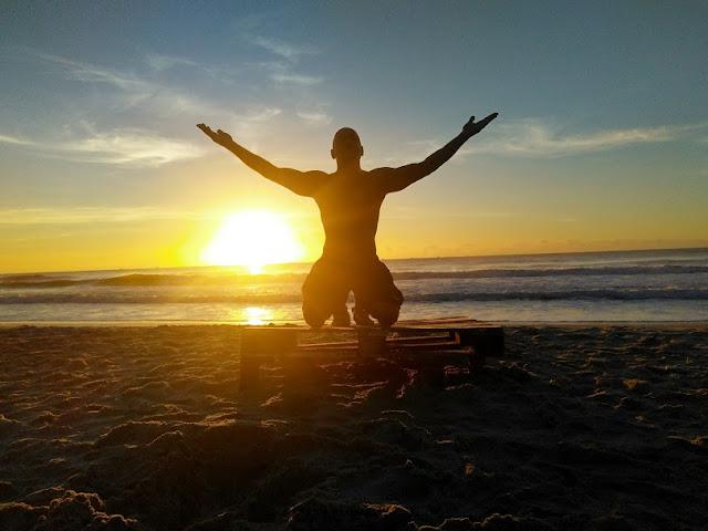 Gratidão é o sentimento mais nobre! Praia da Tiririca - Itacaré