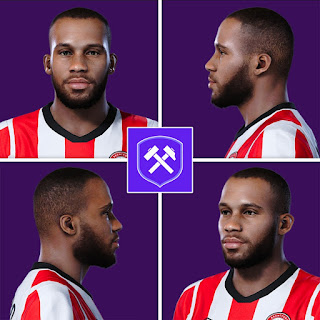 PES 2020 Faces Bryan Mbeumo by Volun