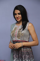 Sakshi Chaudhary Beautiful Emroidery Work Sleeveless Anarkali Dress 064.JPG