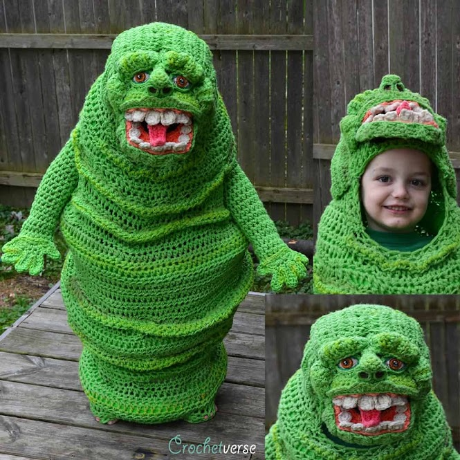 Crochet Cosplay: Slimer from Ghostbusters
