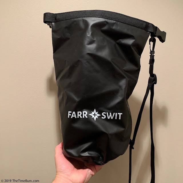 Farr + Swit dry bag