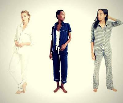 Marca de Pijamas Femininos de Luxo J. Crew