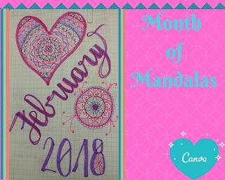 Month of Mandalas February 2018