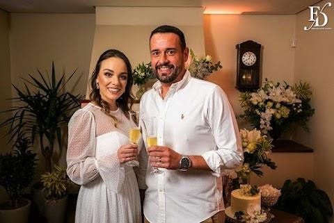 Thais ♥ Delcio | Casamento em Casa | Home Wedding | Porto Alegre