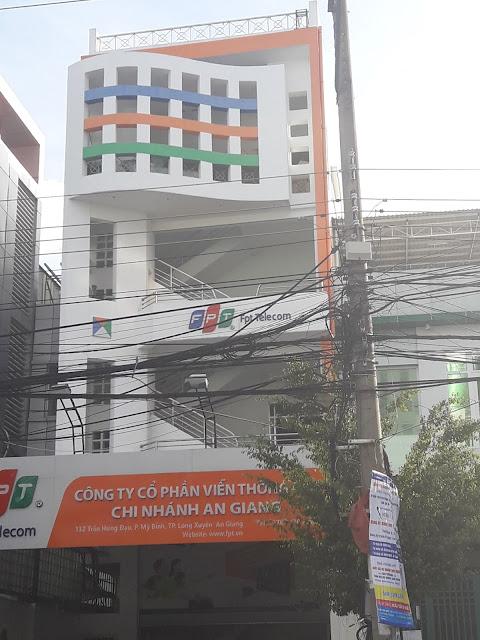 Văn Phòng Công Ty FPT Telecom An Giang