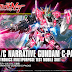 HGUC 1/144 Narrative Gundam C-Packs - Release Info, Box art and Official Images