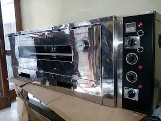 oven gas semiotomatis murah