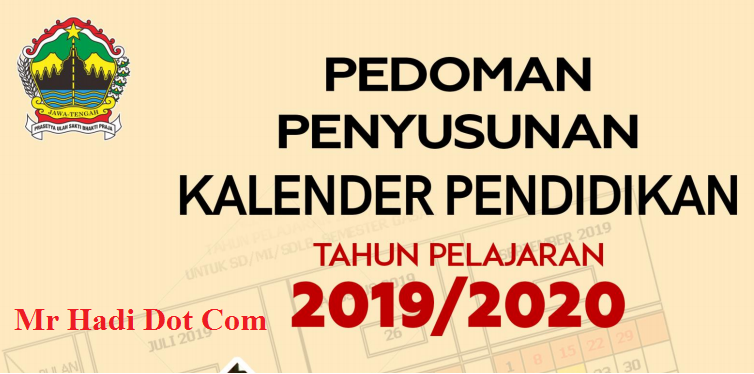 Download Kalender Pendidikan 2019/2020 Versi PDF