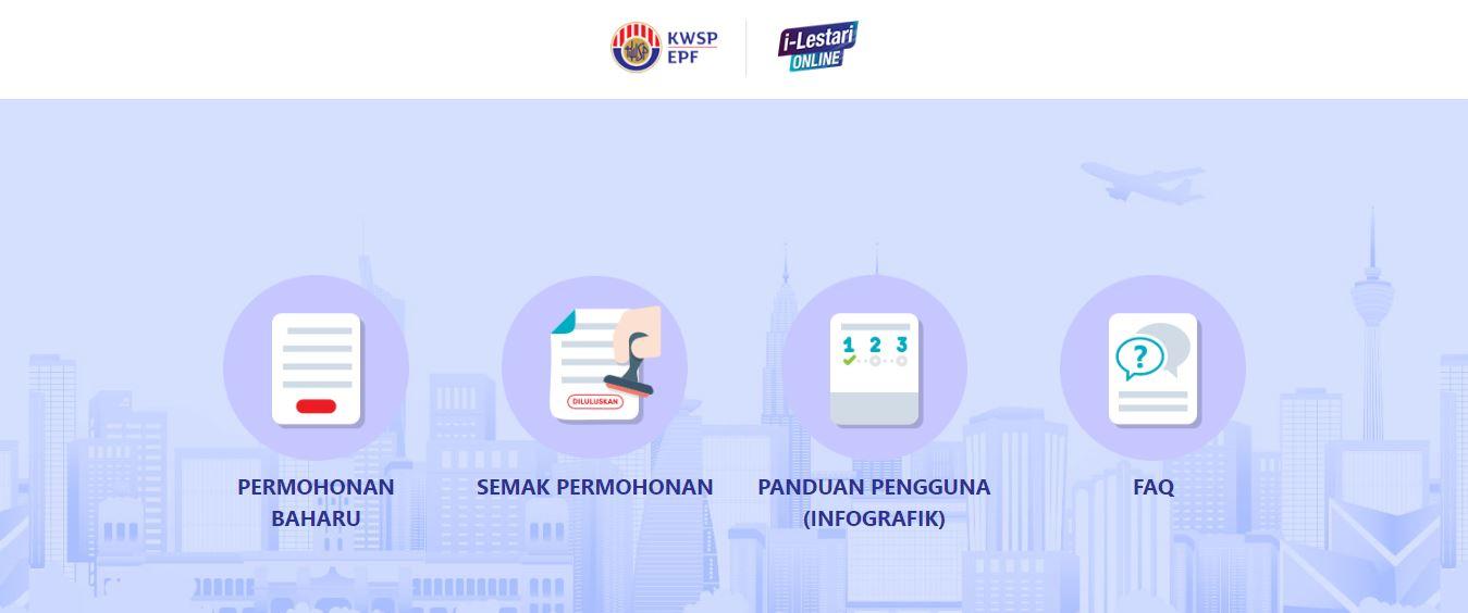 Permohonan i-Lestari KWSP Secara Online Kini Lebih Mudah Tidak Perlu Daftar i-Akaun