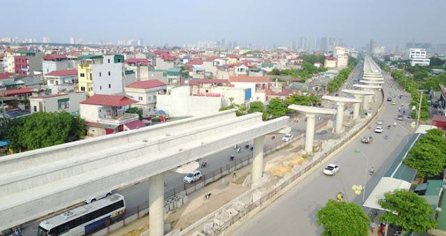 Metro ga Hà Nội - Nhổn được thiết kế 80km/h nhưng chỉ chạy 35km/h