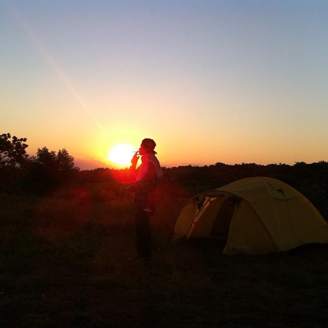 camping di bukit teletubis bali