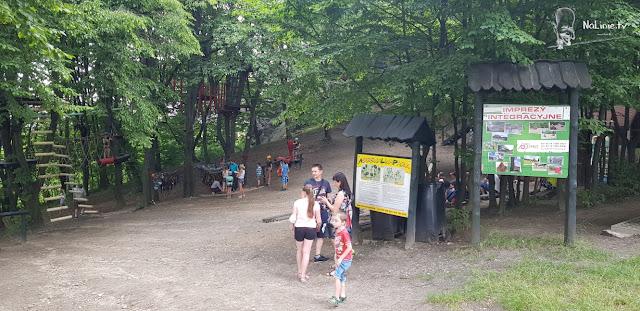 Park linowy AdrenaLinaPark