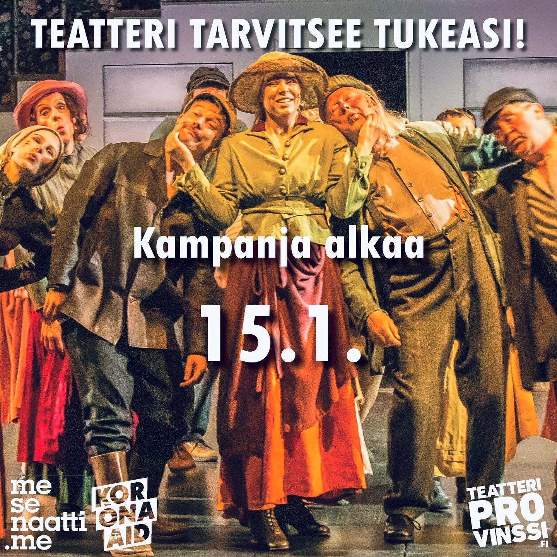 Teatteri Provinssi mesenaatti kampanja