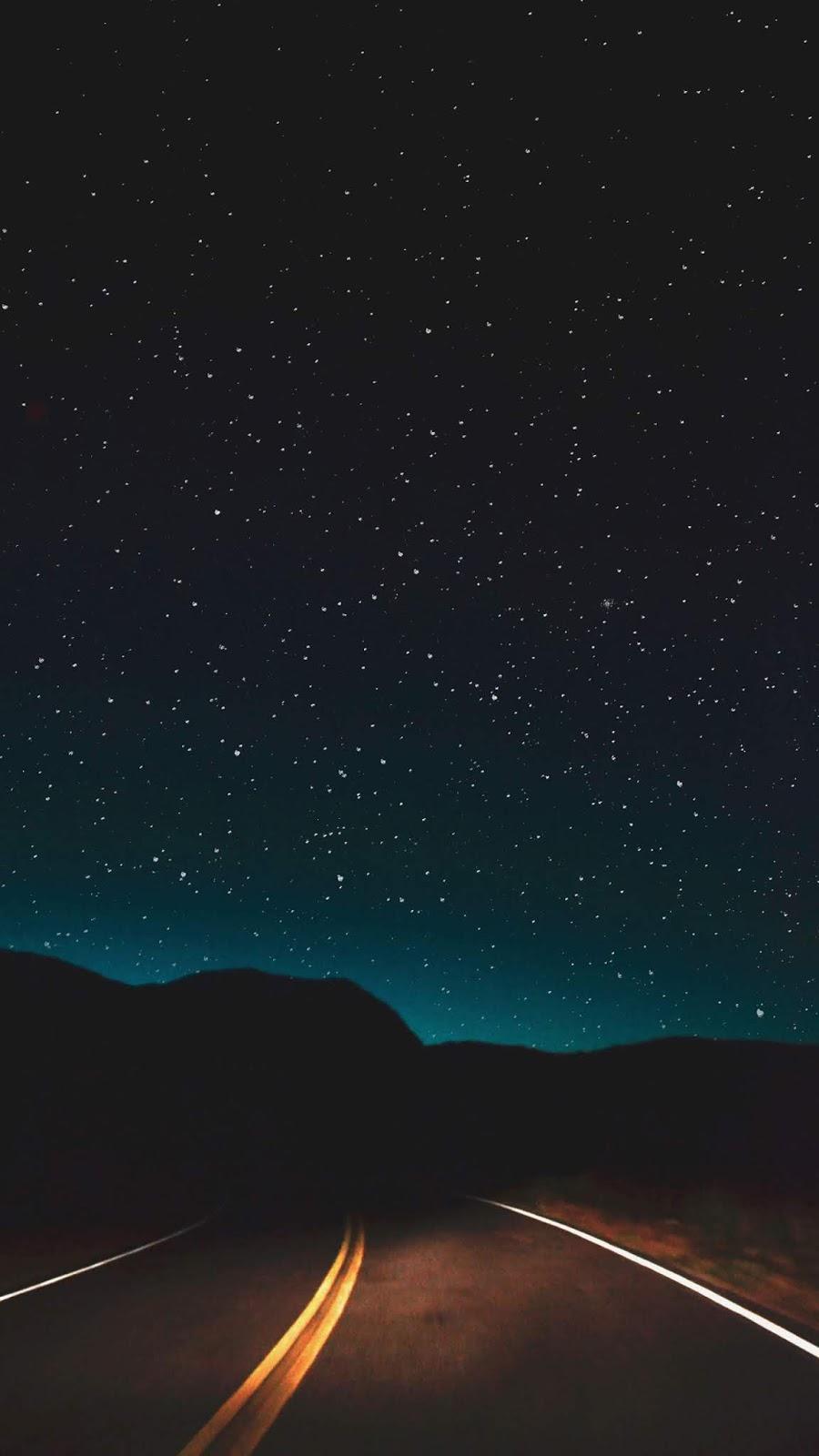 Đường giữa đêm sao