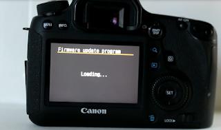 Cara meng-Update firmware kamera DSLR