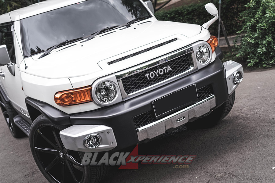 Face lift FJ Cruiser modifikasi via Blackxperience