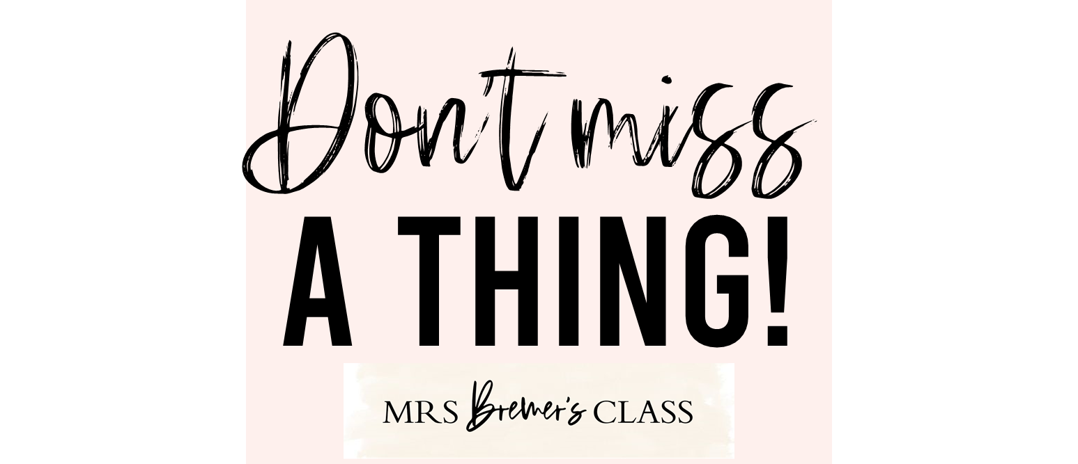 Through my biweekly emails and monthly newsletters, I share teaching ideas you can use, free resources your students will love, and point you to products that will save you lots of time creating and planning.