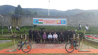 Joint cycling cum Trekking expedition by Indian Army and Royal Bhutan Army