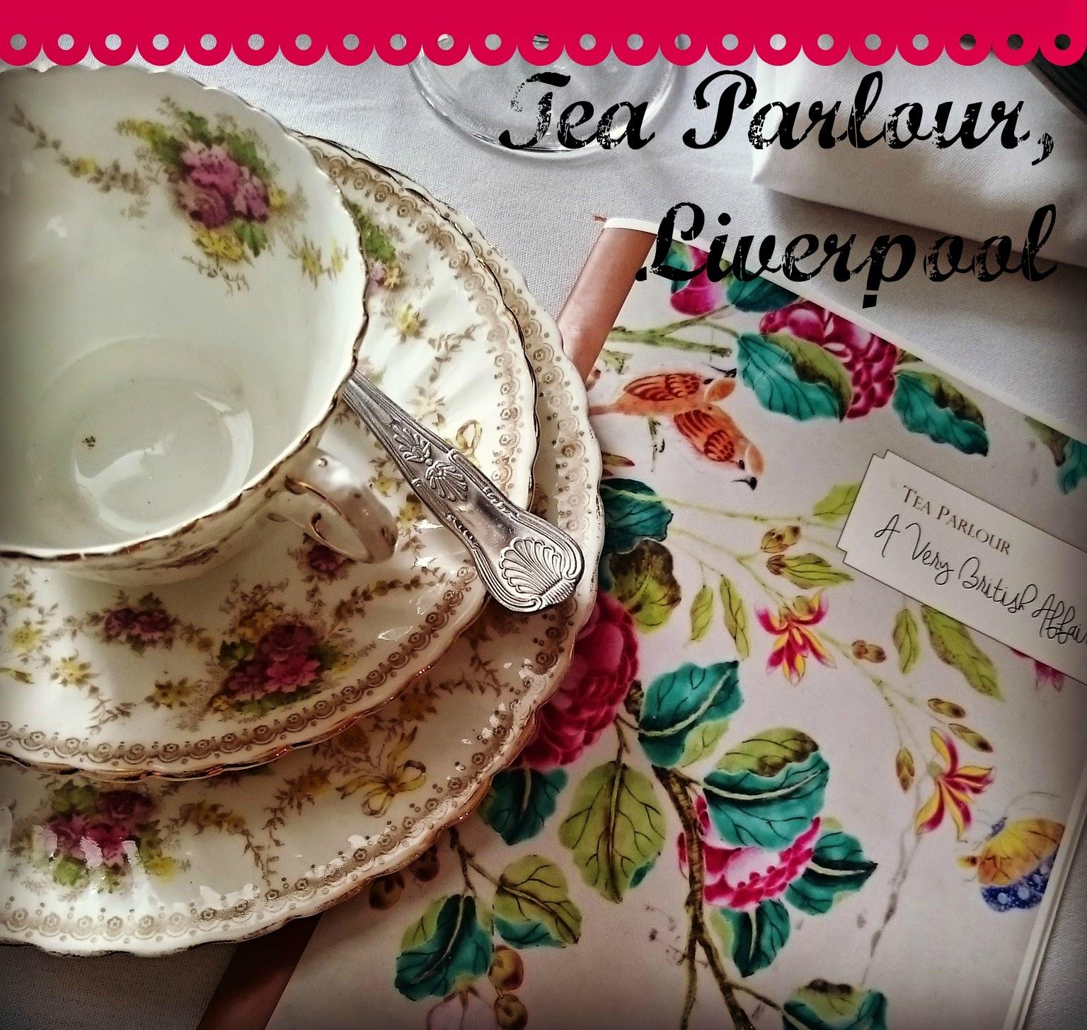 AFTERNOON TEA :: TEA PARLOUR, LIVERPOOL