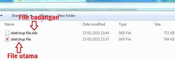 Cara Membuka File SKB Sketchup