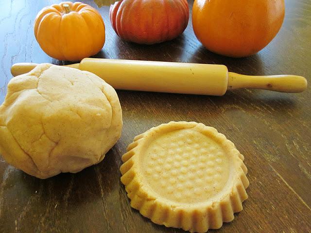 pumpkin pie playdough by Kristin at Homespun with love