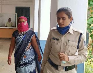 आत्महत्या के लिए उकसाने के मामले में महिला गिरफ्तार, कोर्ट ने भेजा जेल