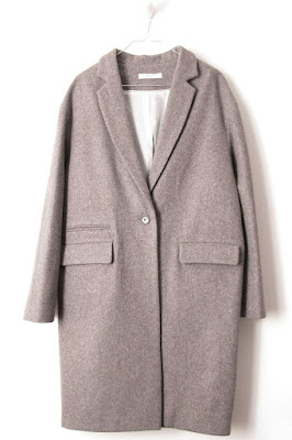 Manteau Sessun Harry Sandrock taupe
