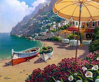 cuadros-de-paisajes-del-mediterraneo-pinturas-al-oleo