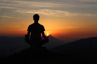 Meditation, Handsome men