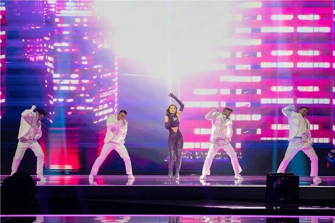 Eurovision 2021: Η Στεφανία εντυπωσίασε και στη δεύτερη πρόβα της
