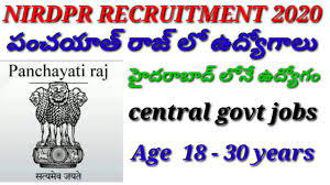 National Institute of Rural Development & Panchayati Raj (NIRDPR) Recruitment for Various Posts Apply Online @nirdpr.org.in /2020/05/NIRDPR-Recruitment-for-Various-Posts-Apply-Online-nirdpr.org.in.html